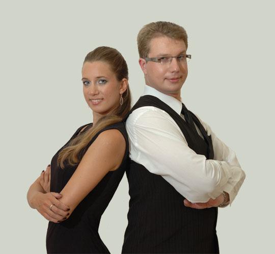 Jindřich Vláčil a Barbora Mičková
